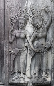 LC_0946: - Camboodia - Bas-relief in Angkor Wat