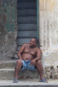 CU_0335: Habana (Cuba) - A man