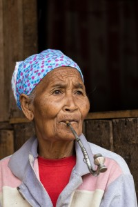 LC_0096: Laos - Old woman