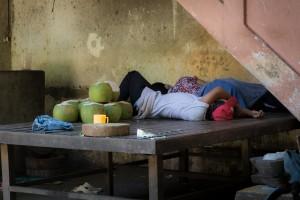 LC_0745: Nap at the market