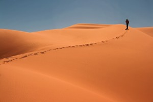 AC_0954: Libyan Sahara - Steps