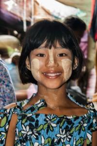 DB_1483: Myanmar - Young girl in Yangoon