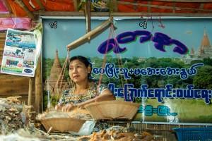 DB_1488: Myanmar - Fruit seller