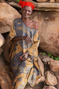 DO_2635: Mali - Old Dogon woman
