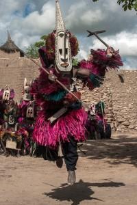 DO_2766: Mali - Ceremonial Dogon dance