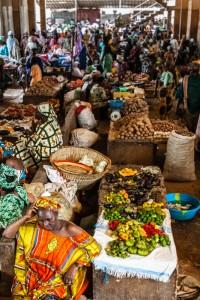 DO_3373: Mali - Market in Bamako