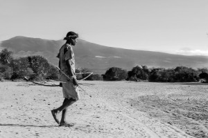 La caccia_002: Botswana- Bushmen hunting