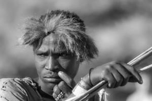 La caccia_003: Botswana- Bushmen hunting
