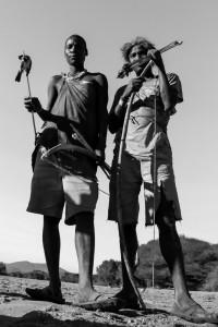 La caccia_008: Botswana- Bushmen hunting
