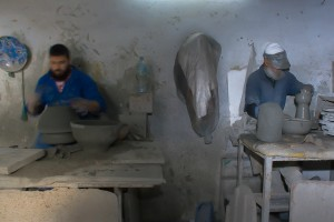 SI_0176: Syria - Potters at work