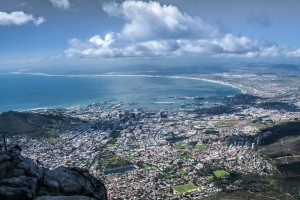 SU_0465: Southafrica - Capetown from Table Mountain
