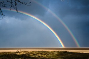 SU_0600: Southafrica - Rainbow at Mozambico border
