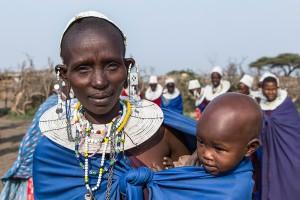 TA_0137: Tanzania - Masai woman
