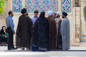 TAM_0107: Iran - Daily life in a mosque