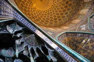TAM_0266: Iran - Mosque  Masjed e Imam in Isfahan