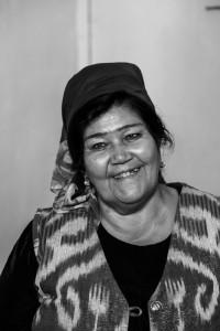 TAM_0418: Uzbekistan - Uzbek woman