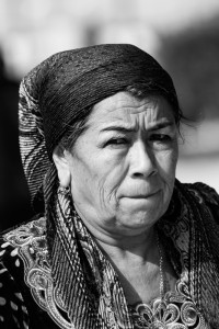 TAM_0486: Uzbekistan - Uzbek woman