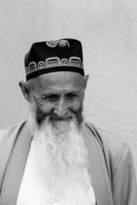 TAM_0509: Uzbekistan - Old jew in Samarcanda