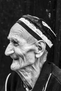 TAM_0513: Uzbekistan - Old jew in Samarcanda