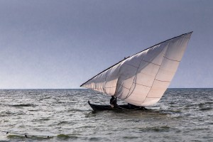 TA_0322: Tanzania - Sailing at Victoria Lake